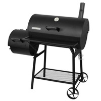 Off-Set Smoker and Grill