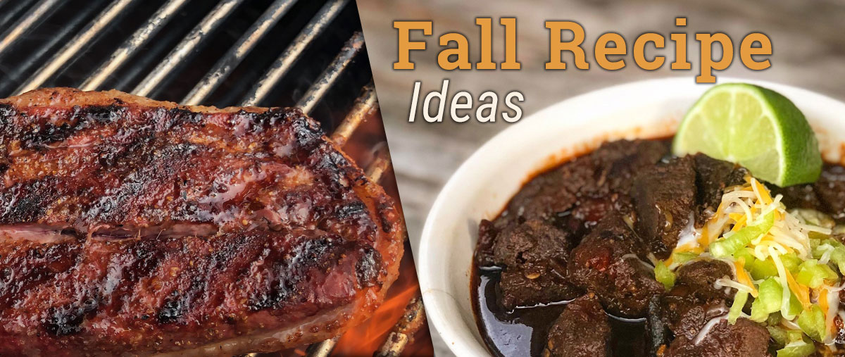BBQ Guru Fall Recipes