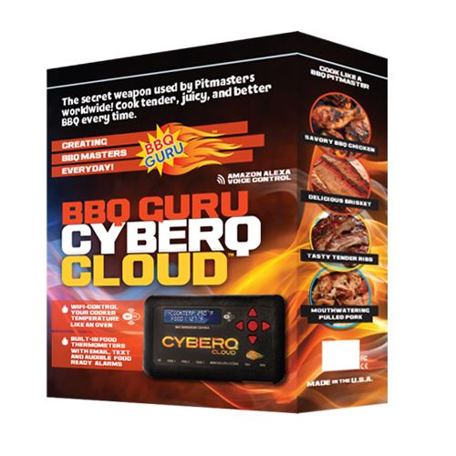 CyberQ Cloud with 4 Foot Food and Pit Probes