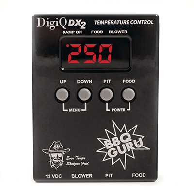 Black DigiQ BBQ Temperature control