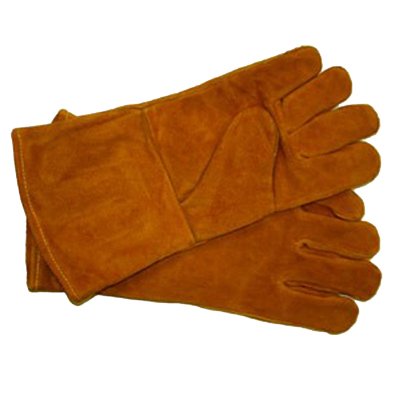 BBQ & Hearth Leather Gloves