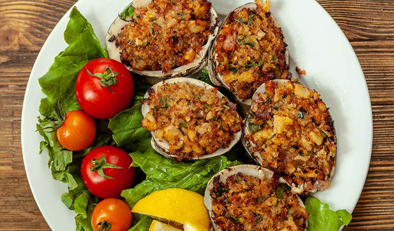 Grilled Clams Casino BBQ Bob Style