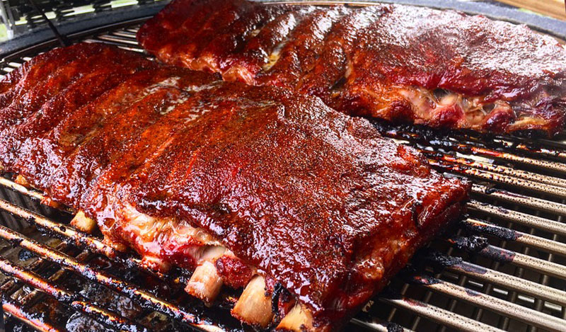 Backyard Spare Ribs