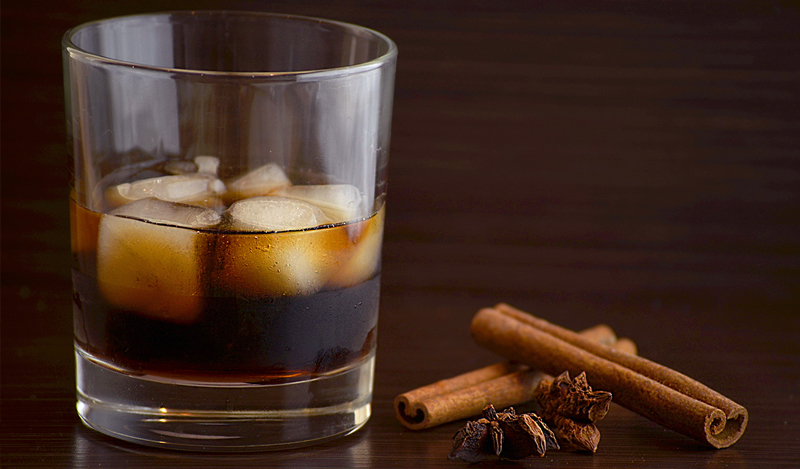 "Bourbon ""Spirits"" with Cinnamon and Star Anise"