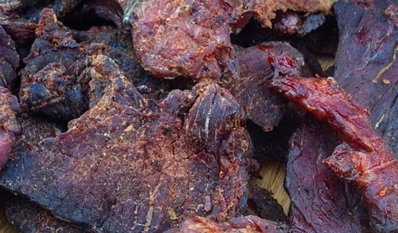 Brown Ale Venison Jerky with Flying Fish Beer