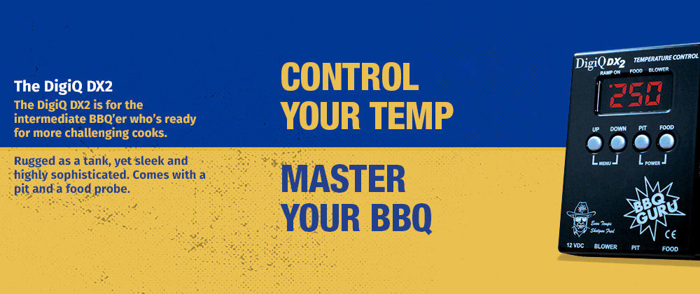 Automatic BBQ Temperature Control DigiQ